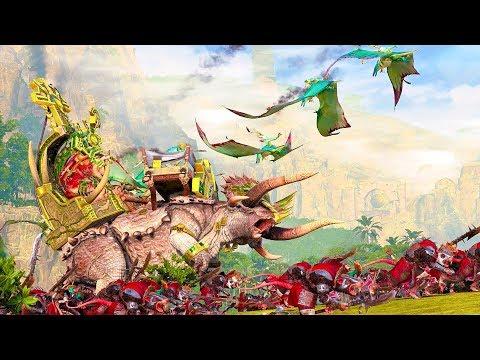 Lord Mazdamundi Awakens for War: Lizardmen vs Skaven - Total War WARHAMMER 2 |