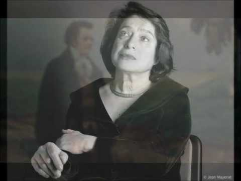 Elisabeth Leonskaja - (LIVE on radio) Schubert Piano Sonata D. 960 Mov. II - Леонская