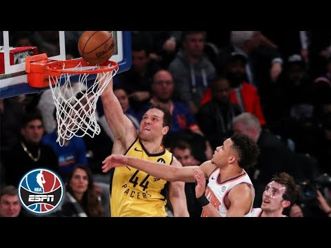 The Pacers dunk all over the Knicks  | NBA Highlights