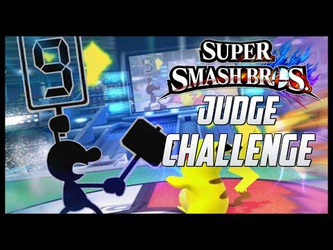 Smash Challenges #07: Judge/9-Hammer Challenge (Mr. Game and Watch) – Aaronitmar