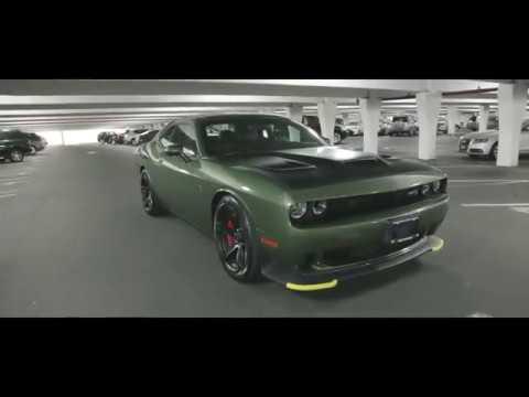 Brand New 2018 Dodge Challenger Hellcat F8 Green - YouTube