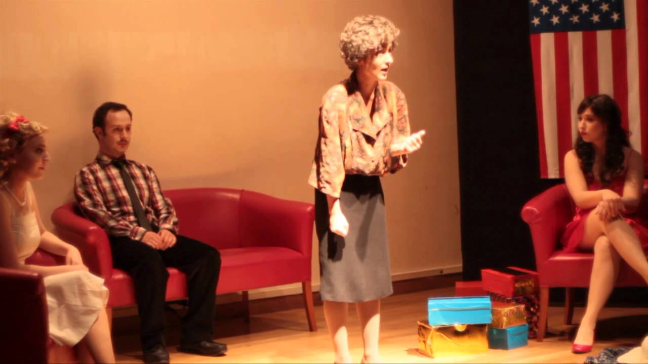 albee american dream Cherry lane theatre founder angelina fiordellisi chats with pulitzer prize winning author edward albee on his plays the am.