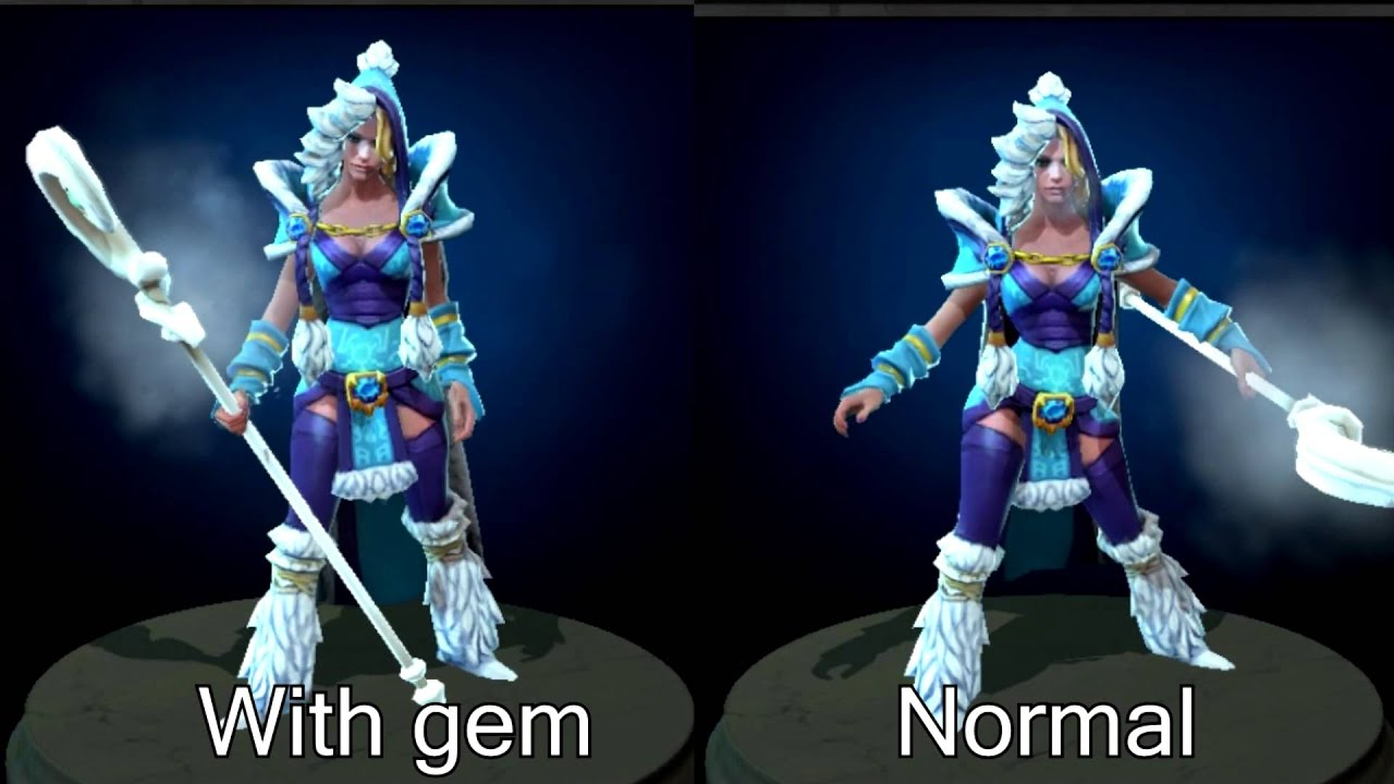 Crystal Maiden Dota 2 Immortals: Dota2 Crystal Maiden's Kinetic Gem