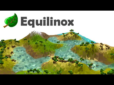 Equilinox - Java Game Devlog 2: Low Poly Water