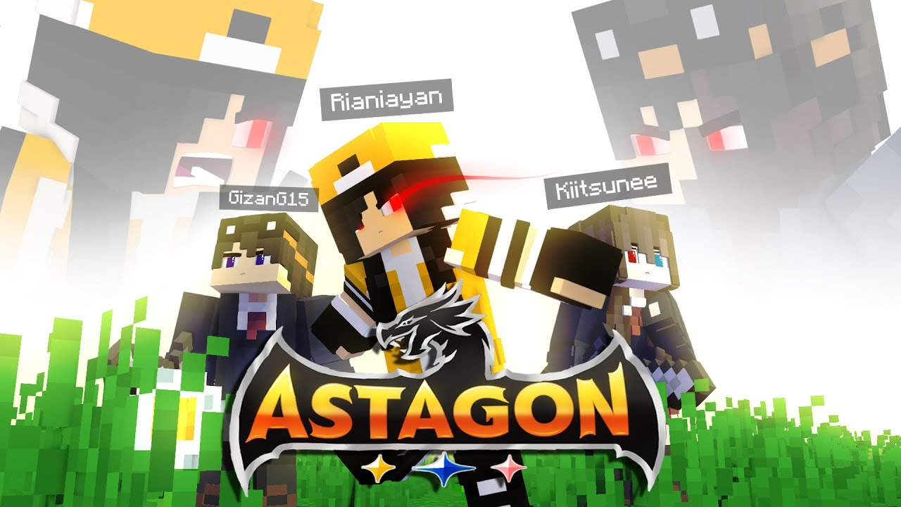 Pertarungan 2 Manusia Setengah IBLIS. Apakah Sejarah akan berubah ?   Minecraft Hardcore Astagon #2