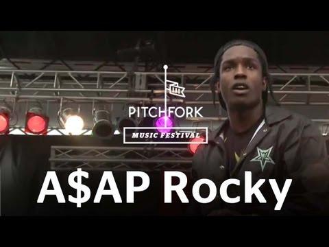 A$AP Rocky  Goldie  Pitchfork Music Festival 2012  PitchforkTV
