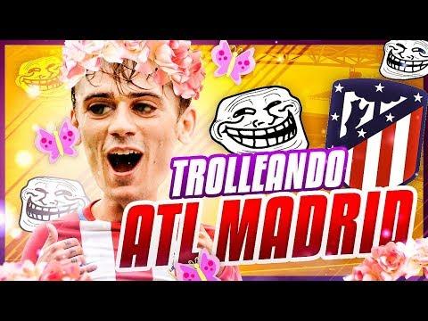 ¡TROLLEANDO CON EL ATLÉTICO DE MADRID! FIFA 18 | EQUIPOS DENIGRANTES | PIKAHIMOVIC