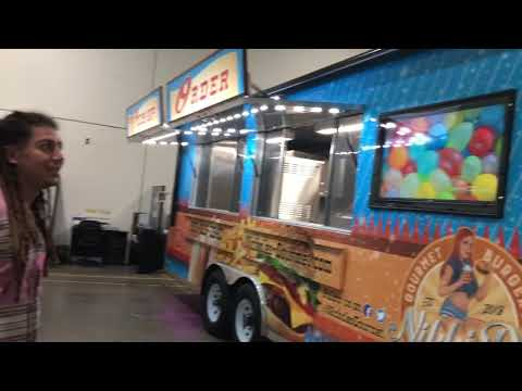 Nikki D's Food Trailer Graphics Final Reveal at our Concession Nation shop