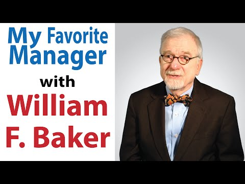 William F. Baker talks about his All-Time Favorite Manager