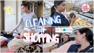 DAILY VLOG! Cleaning + Shopping