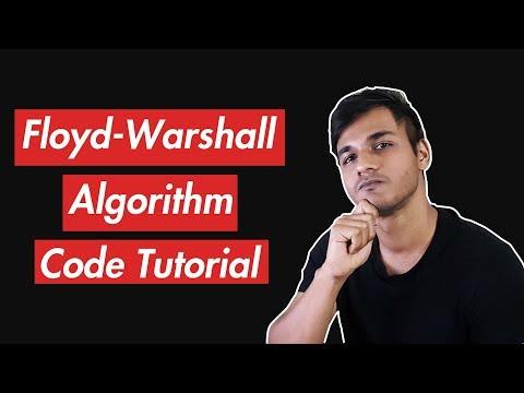 Floyd-Warshall Algorithm | Code Tutorial