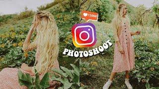 Instagram Photoshoot (Behind the Scenes)