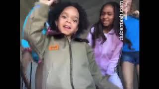 ZaZa Meets That Girl Lay Lay x Slay Gang Teens (That's A No No Video Shoot)