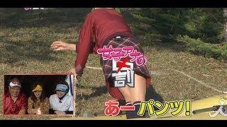 女子アナゴルフ対決!11/16放送ダイジェスト【女子アナの罰】