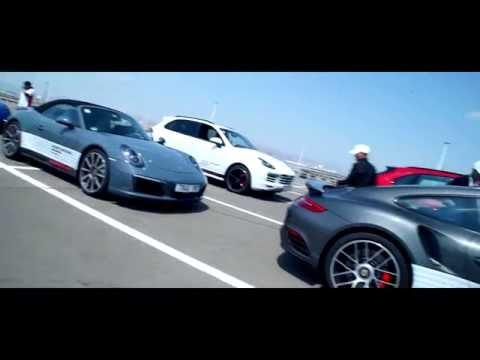 Porsche Sport Driving School Mongolia
