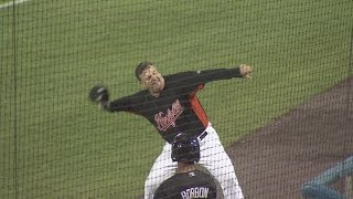 "Tides manager tossed in ""Star Wars Night"" win"