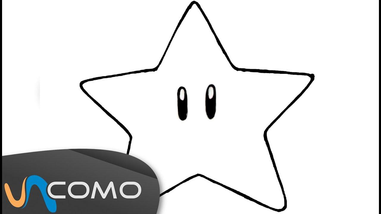 Dibujar una estrella de forma sencilla - YouTube