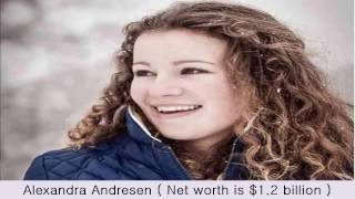 Most Beautiful Youngest Female Billionaires In The World 2017