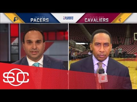 Stephen A. Smith: LeBron James had 'no support' in Game 1 of NBA Playoffs | SportsCenter | ESPN