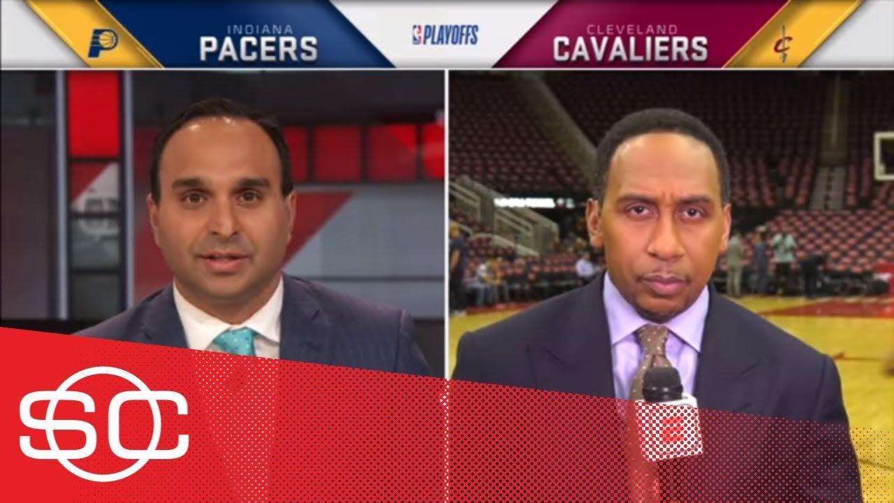 Stephen A. Smith: LeBron James had 'no support' in Game 1 of NBA Playoffs   SportsCenter   ESPN