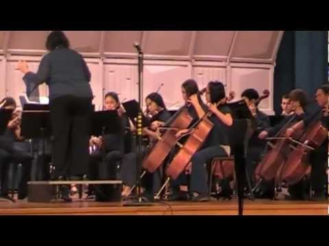 Twas in the Moon of Wintertime (Senior Orchestra - 2012 Winter Concert)