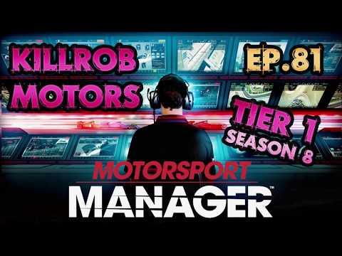 Motorsport Manager: Ep.81 Season 8 Race 9