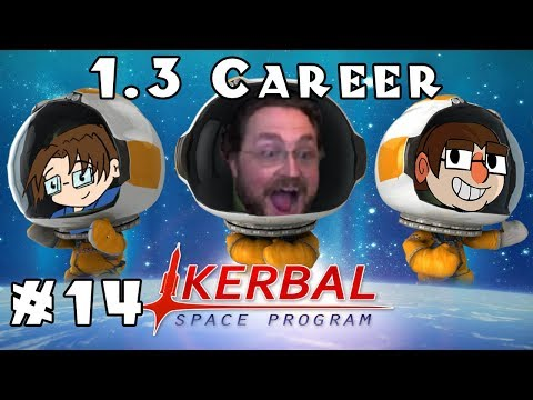 Kerbal Space Program - Heavily Modded 1.3 Career - Ep. 14