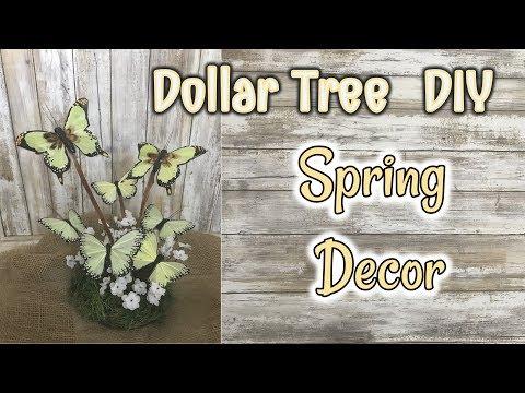 DOLLAR TREE DIY   Spring Decor Diy