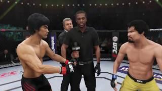 Bruce Lee vs. Manny Pacquiao (EA sports UFC 3) - CPU vs. CPU