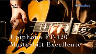 """Epiphone FT-120 Masterbilt Excellente - """"The Water Is Wide"""""""