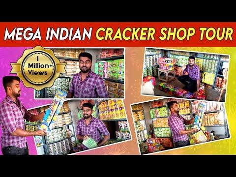 MEGA INDIAN Firecracker  Shop Tour - Diwali 2019
