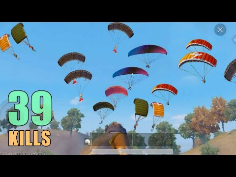 TOP 3 MILITARY BASE DROPS!!! | 39 KILLS | SOLO SQUAD | PUBG MOBILE