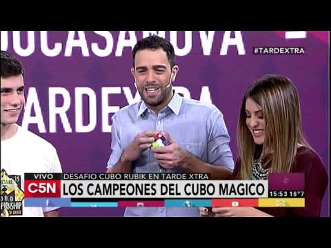 C5N - Tarde Xtra: Los campeones de Cubo Magico