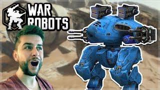 WE UNLOCKED THE BEAST GRIFFIN ROBOT & IT'S AMAZING!! | War Robots