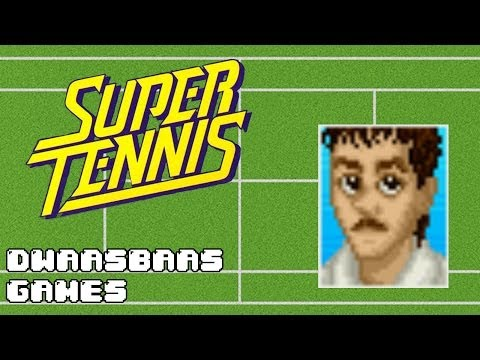 Super Tennis - SNES - Review & Gameplay