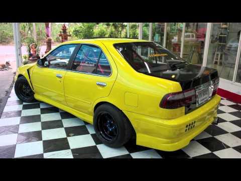 Nissan Sunny B14 Thailand YouTube