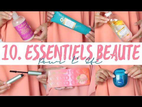 10 Essentiels Beauté pour l'été⎮ Amivi Makeup