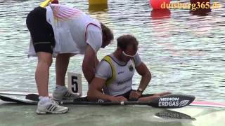 Kanu WM 2013 Duisburg - Max Hoff auf dem Weg zum Titel