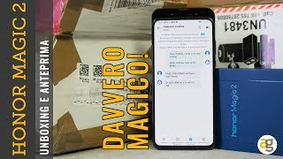 Unboxing MAGICO!!! HONOR MAGIC 2 con TRADUTTORE simultaneo IN CHIAMATA!