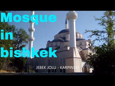 Mosque in bishkek, kyrgyzstan