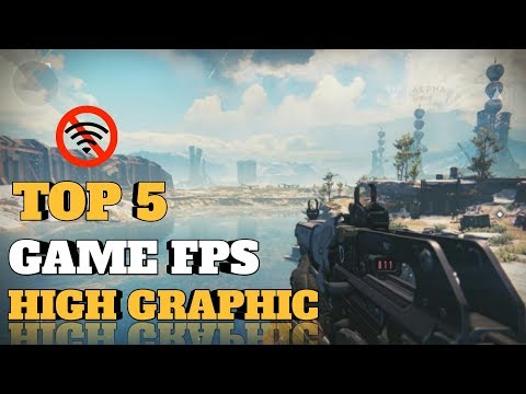5 GAME ANDROID FPS OFFLINE HIGH GRAPHICS TERBAIK 2019 - 동영상
