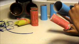 how to make gift boxes out of toilet paper rolls