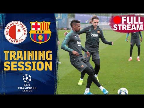FULL STREAM | Last training session before  the match against Slavia Praga