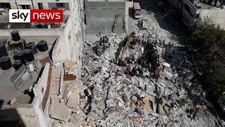 Israel-Gaza: Israeli missile attack increases Gaza death toll to 192