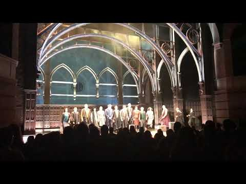 Harry Potter and the Cursed Child first Broadway curtain call