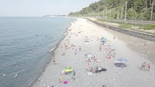 Лазаревское - Солоники пляж на любой вкус!!!