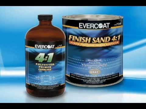 Imprimador Finish Sand 4:1 de EVERCOAT® - Spanish