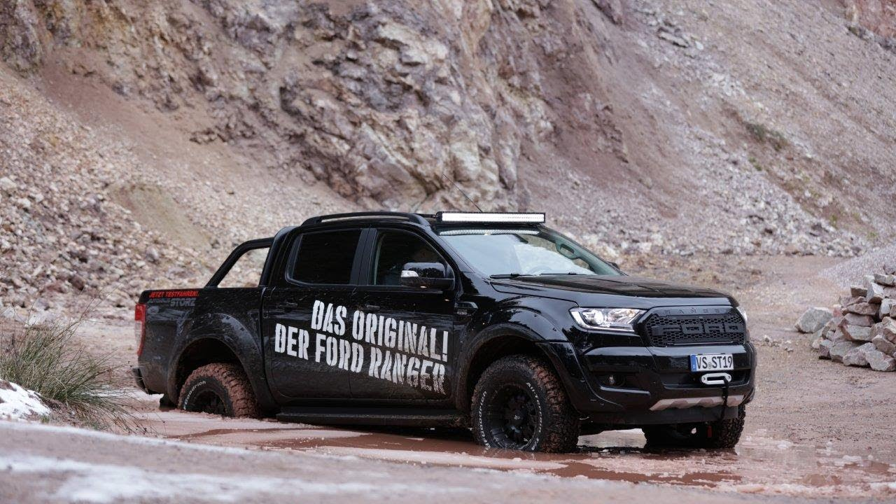 2018 ford ranger black edition umbau extreme review. Black Bedroom Furniture Sets. Home Design Ideas