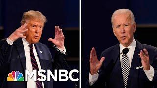 Trump And Biden Spar Over Health Care At Debate   Morning Joe   MSNBC