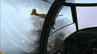 FSX (HD) - Test Video 2 - Sibwings Saab Safir formation flying - Alaska